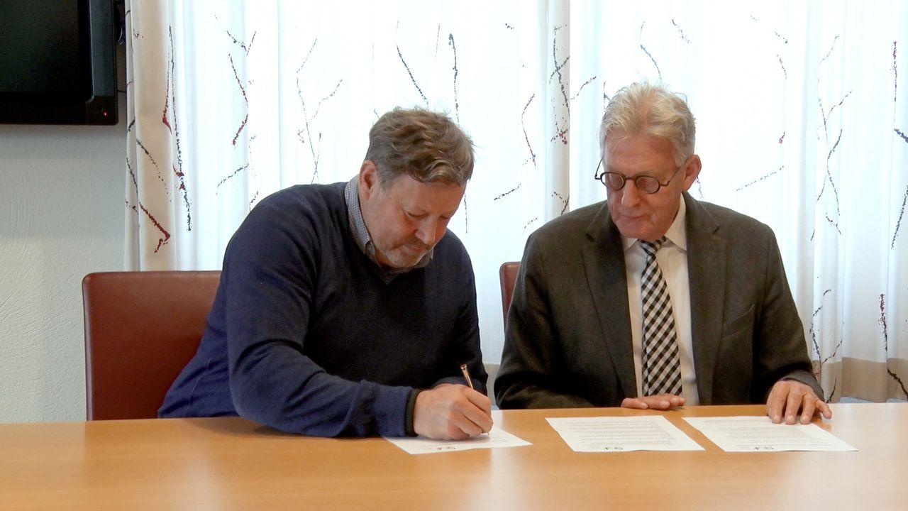 Ondertekening convenant voor goede huisvesting arbeidsmigranten