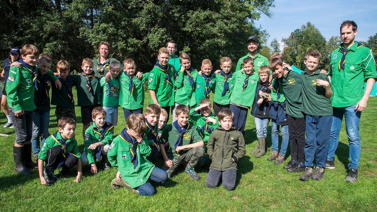 Scouting Someren houdt inzamelingsactie 'Heitje voor karweitje'