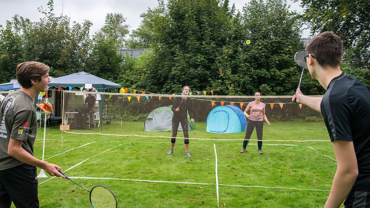 Vijfde editie Camping Badminton Toernooi