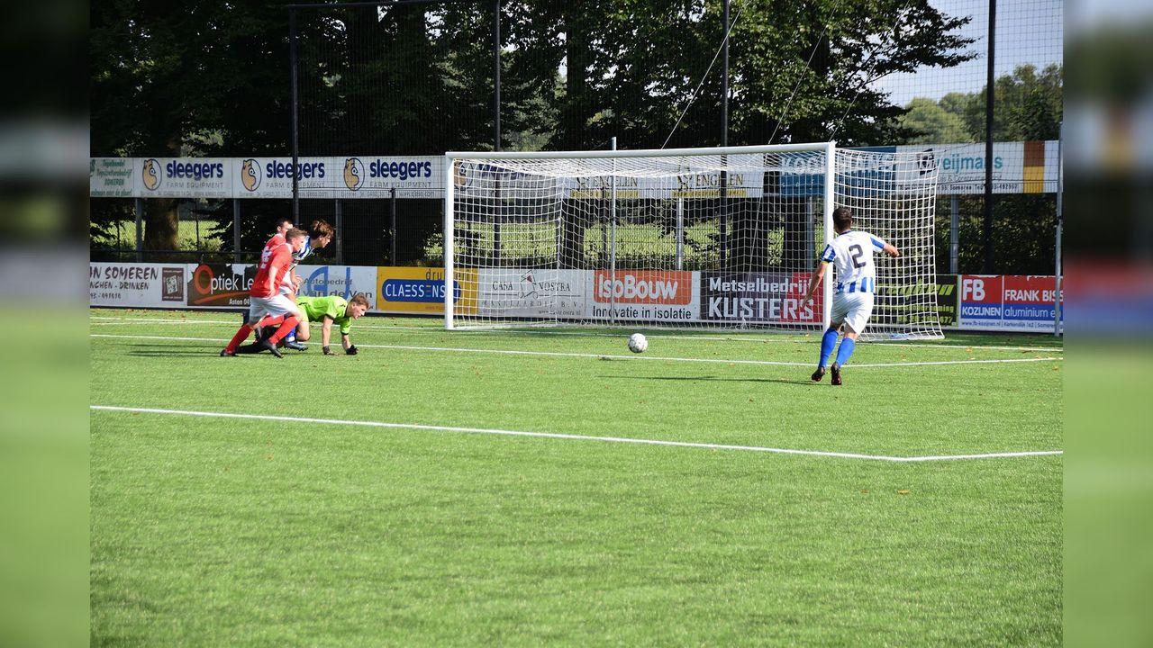 Tiental SV Someren wint met 7-0