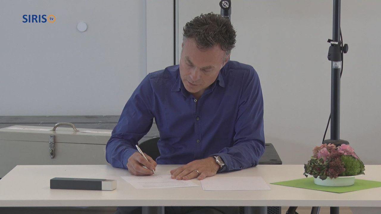 Ondertekening convenant PO-VO