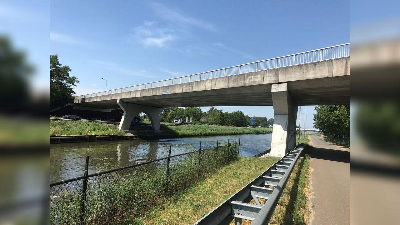 Afsluiting brug Dijkstraat