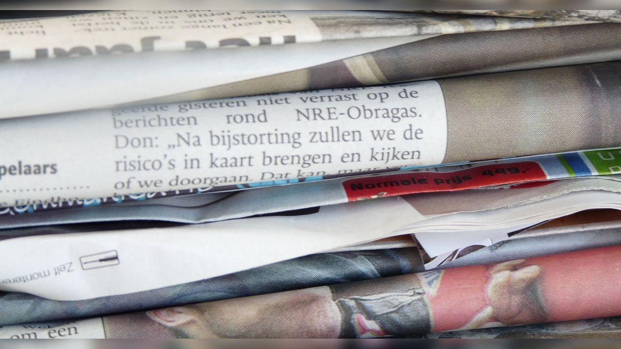 Inhaalronde inzameling oud papier