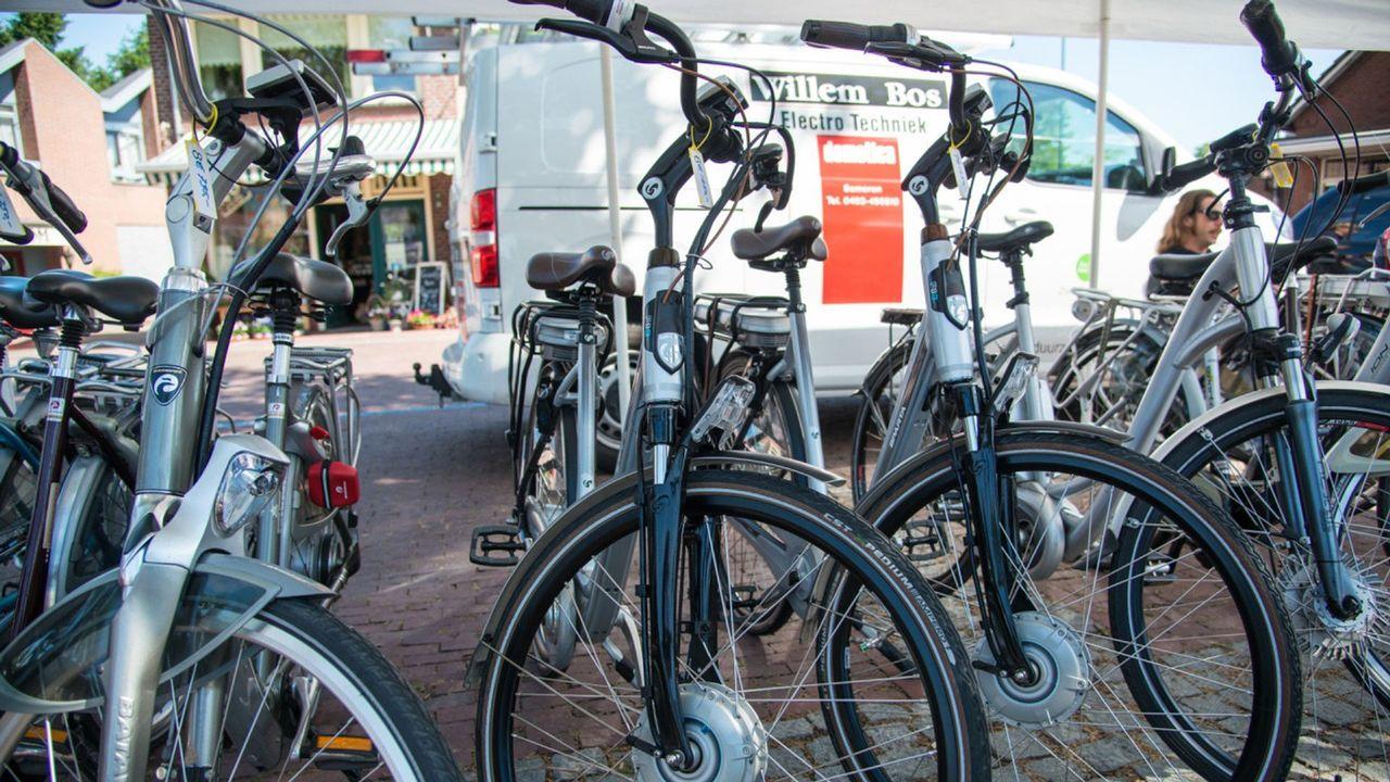 Veel (elektrische) fietsen gestolen in centrum Someren